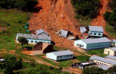 Infrastructure at St Charles Lwanga Secondary School was damaged by Cyclone Idai
